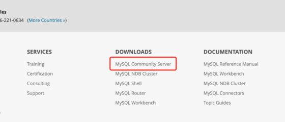 MySQL下载