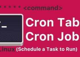 Linux-cron-tab-jobs