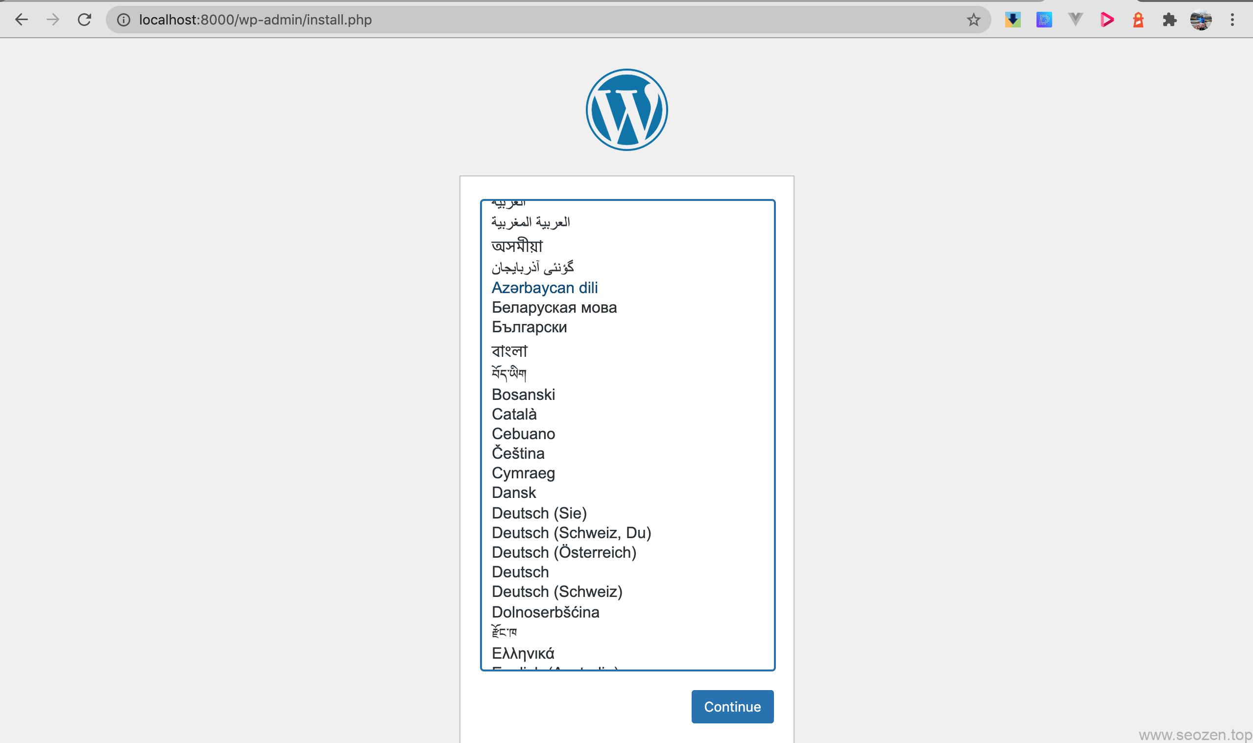 docker-wordpress-install