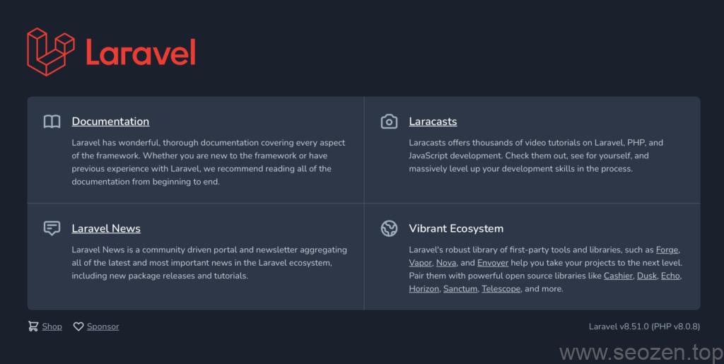 Larave-8x-startup
