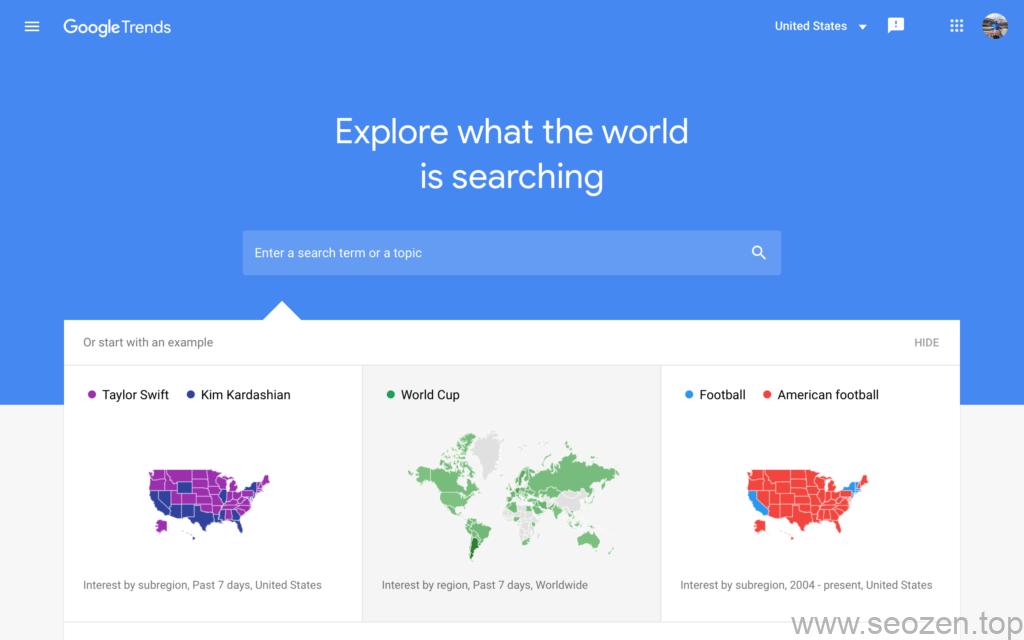 Google-trend-dashboard