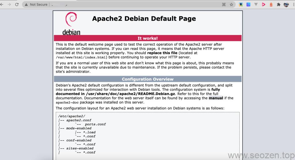 laravel-debian-apache2-active