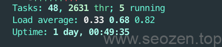 Linux-htop-system-informations