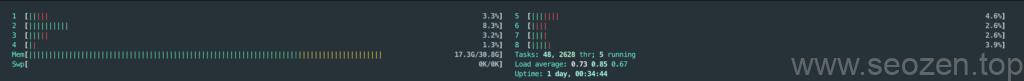 linux-htop-cpu-memory-usage